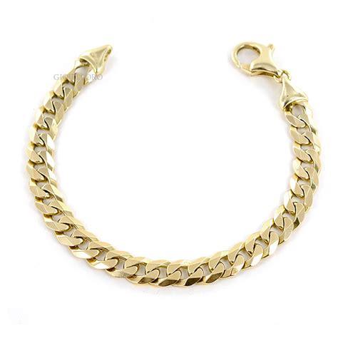 bracciale pomellato uomo bracciale uomo maglia piena in oro massiccio gioielloro