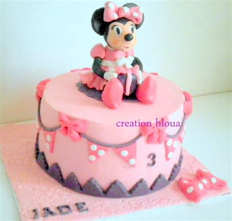 g 226 teau quot minnie quot mes cr 233 ations en p 226 te 224 sucre cr 233 ation hloua formation cake design