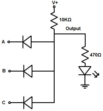 How Build Diode Gate Circuit