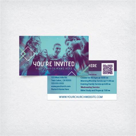 mini invite cards youre invited burst prochurch