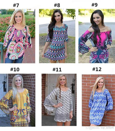 casual dress bohemia boho mini dress style dress fashion