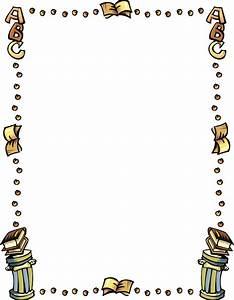 School Clip Art Borders | clip art school border image ...