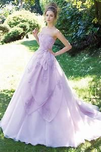 romantic lilac princess wedding dress the dress pinterest With lavender dress for wedding