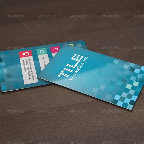 tile design business card by kimiwa graphicriver