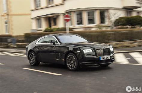 Rolls Royce Wraith Black Badge 5 February 2017 Autogespot