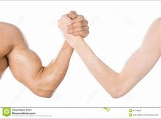 Bodybuilding & Fitness Topic Arm Wrestling Thin Hand And
