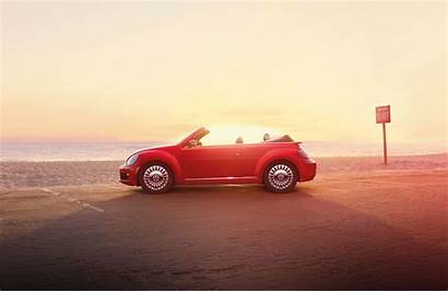 Beetle Convertible Volkswagen Wallpapers Cars Beach Vw