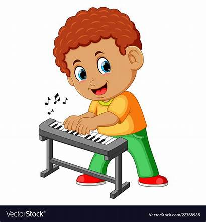 Piano Playing Boy Clipart Child Happy Clipground