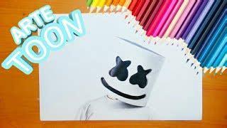 Como Dibujar a Marshmello de Arcoiris Лучшие мультфильмы