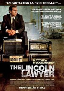 The Lincoln Lawyer Movie Posters From Movie Poster Shop