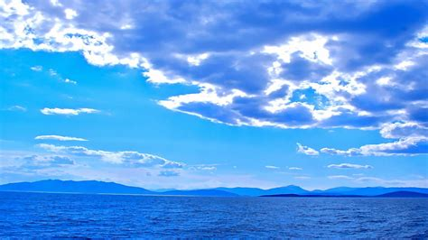Background Refresh Cool Refresh Blue Sea Hd Wallpapers