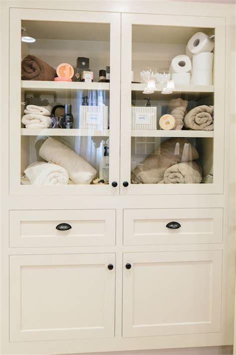 Built In Linen Cabinet Home Construction