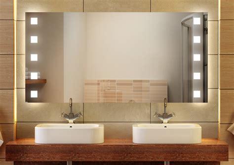 wandspiegel badspiegel quot quasar quot wandspiegel led g4