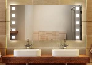 Badspiegel Rund Mit Beleuchtung : wandspiegel badspiegel florenz badspiegel badspiegel halogen ~ Indierocktalk.com Haus und Dekorationen