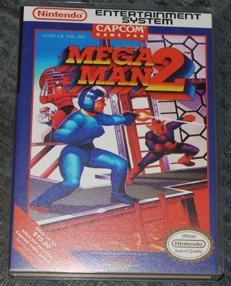 Mega Man 2 Nes Reproduction Art Casebox No Game Ebay