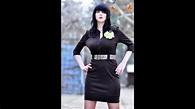 mulher curvilínea da Moldávia, Culinca Elena, modelo ...