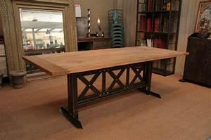 Table A Manger Industrielle : table a manger industrielle ~ Teatrodelosmanantiales.com Idées de Décoration