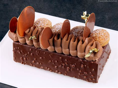 buche de noel saint honore brownie recette oo sucre