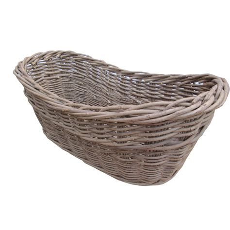 wicker kitchen furniture buy willow harvest wicker log basket from the basket
