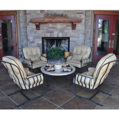 athens seating by meadowcraft outdoor furniture
