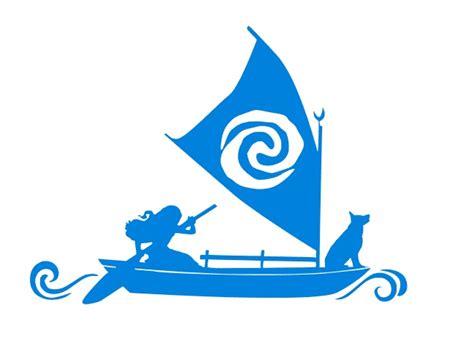 Moana Clipart Boat by Moana Gsd Decal Thumbnail 1