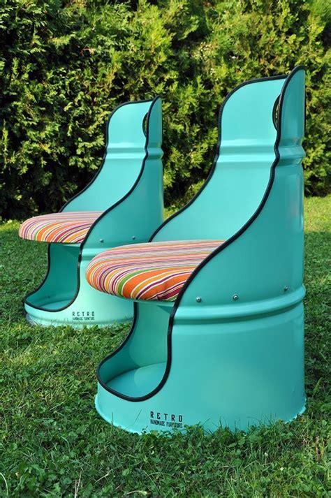 Kreative Recycling Wohnideen Alte Sachen Wiederverwendenrecyclingmoebel Aus Barrel by It Is And Creative Chair Garden Furniture Green