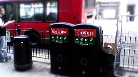 london turns  snooping trash cans  tracked