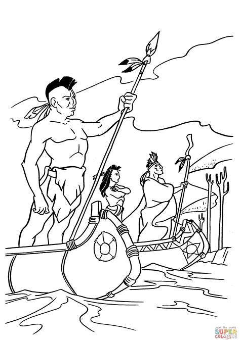 indian coloring pages american indian coloring pages for