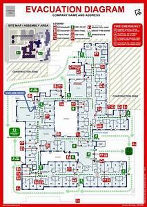 Emergency Exit Diagram