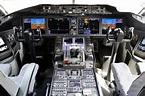 United Boeing 787-8 Dreamliner Cockpit : aviation
