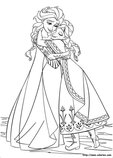Pages à Colorier © La Reine Des Neiges
