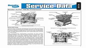 Parts For Bendix Air Compressor Head Kit For 550 750 Tu Flo Includes All Pa