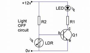 interfacing With ldr switch circuit