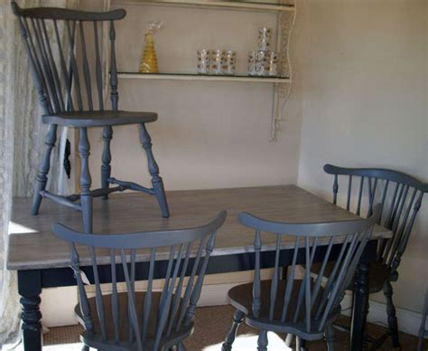 shabby chic dining table grey gray painted classic cottage shabby chic vintage kitchen dining table around the house