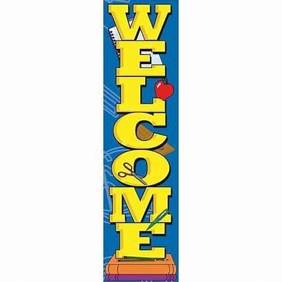 Vertical Welcome Banner Classroom Banners Eureka Signs