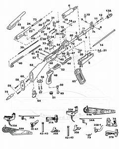 diagram ak 47 receiver parts diagram With ak 47 exploded diagram all image about wiring diagram and schematic on