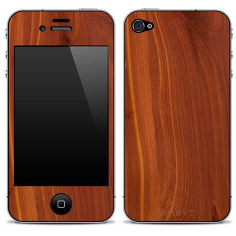 wood iphone karvt 100 authentic wooden iphone skins the green