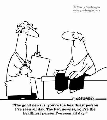 Cartoon Cartoons Bad Medical Glasbergen Funny Funnies