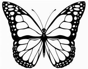 Ausmalbilder, Schmetterling, Zum, Ausdrucken