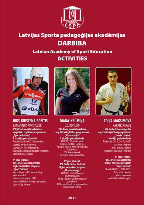 LSPA darbība 2015 - LASE activities 2015 by Jānis Nicmanis ...