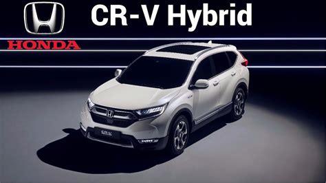 honda cr  hybrid prototype  electrified