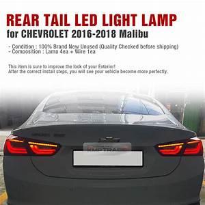 Led Rear Tail Light Lamp Assembly Rh Lh For Chevrolet 2016