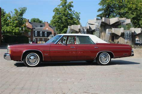 1978 Chrysler Newport by 1978 Chrysler Newport One Owner Since New All Original