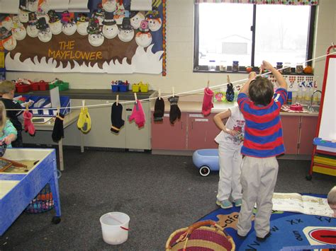 preschool clothing theme the loved hanging the mittens they washed on a 338