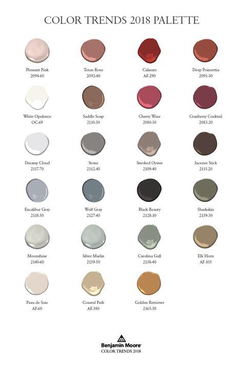 2018 color trends caliente af 290 paint color