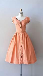 1940's Cotton Day Dress   Retro fashion   Pinterest   Day ...