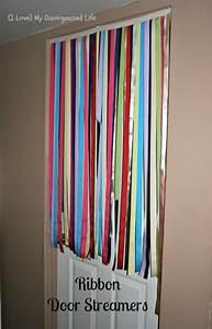 Ribbon, Door, Streamers