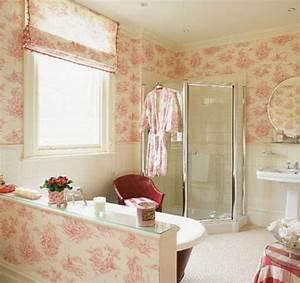 Tapeten Badezimmer Beispiele : tapeten ideen im bad 21 ausgefallene und stilvolle vorschl ge ~ Markanthonyermac.com Haus und Dekorationen