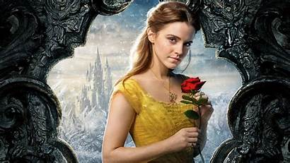 Beast Beauty Emma Watson Wallpapers Movies 4k