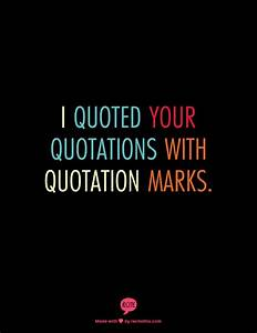 Single Quotatio... Quotation Marks Quotes